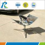 Cuiseur solaire parabolique de cuiseur de tailles importantes de miroir solaire sain de réflexion