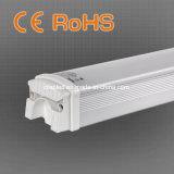 lumière matérielle de tube de la Tri-Épreuve DEL d'intense luminosité de 18W Al+PC pour l'entrepôt