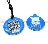 Compatível MIFARE 1K/4K Fudan F08 Pet epóxi RFID ID Tag