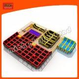 Многоцветные для использования внутри помещений вне баскетбола из пеноматериала яму батут