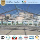 15X15m 명확한 지붕 투명한 PVC 결혼식 큰천막 천막