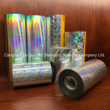 Rollos de Película holográfica de Hot Stamping Estuche de aluminio