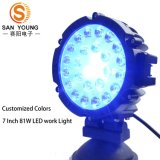 Luz barata do trabalho do diodo emissor de luz 51W impermeável para automóveis do trator