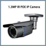 cámara impermeable del punto negro de la seguridad del CCTV de la red del IP IR de 1.3MP Poe (WH1)