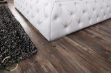 أسلوب [فرنش] خشبيّة خصّل زرّ جلد سرير