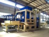 Bloc hydraulique concret automatique de brique de cendres volantes de la colle faisant la machine
