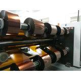 Duplex trancheuse rembobineur Haut débit de la machine pour l'autocollant autoadhésif