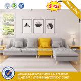 Diseño simple de la moda Oficina sofá de cuero negro (HX-8NR2269)