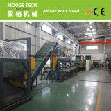 300-3000кг/ч отходов пластмассовых ПЭТ бутылки жидкого моющего средства утилизации производственной линии