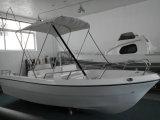白いガラス繊維の漁船のパンガ刀のボートのモーターボート