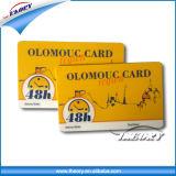 주문을 받아서 만들어진 직업적인 명함 스마트 카드