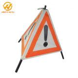 Segnale stradale portatile pieghevole del triangolo del segnale di pericolo del treppiedi