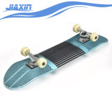 La industria aeroespacial de aluminio y fibra de vidrio doble Kick Tail Professional Skateboard