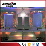 Estructura cristalina del aluminio de la decoración de la etapa de Mandaps de la boda india