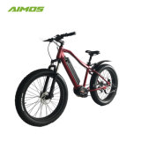 2017 Venta caliente Hidden 48V Batería de 1000W Fat eléctrico neumático de bicicleta de montaña de deportes
