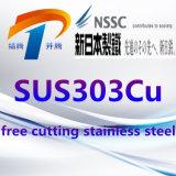 De Plaat van het Roestvrij staal van SUS303cu SUS303se om Staaf/Pijp