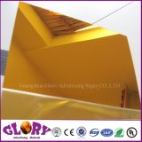 Argento di alta qualità e strato dorato dell'acrilico dello specchio di colore