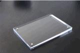 Blocco per grafici laterale acrilico su ordinazione della foto dell'annullare 10mm di formato doppio