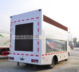 5 корабль тележки 4*2 экрана t напольный СИД передвижной рекламируя