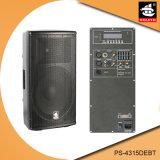 15 Spreker pS-4315debt van Bluetooth EQ van de FM van de AMPÈRE USB BR van de duim de PRO350W Digitale Plastic Actieve