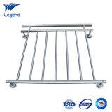 Inferriata del balcone dell'acciaio inossidabile del fornitore con il migliore prezzo