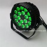 屋外LEDの同価は18X10W RGBWの段階ライトできる