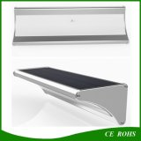 1100 Lumen 4 in 1 Mikrowellen-Radar-Bewegungs-Fühler-Solargarten-Licht des Modus-60 LED