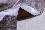 Künstliches Faux-Veloursleder-Gewebe mit Druck und speziellem Muster