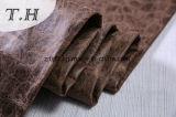 Tela de gamuza grabada Hot Stamping Diseño en China