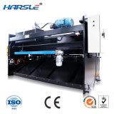 Harsle 고품질 Productsqc12K 시리즈 디지털 표시 장치 유압 그네 광속 Sheaing 기계
