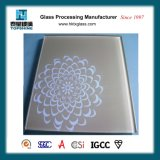 Декоративные шелкографии печать стекла /Лакированная стекло для гостиницы и рестораны