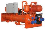 Затоплены водой испарителя охладитель с воздушным охлаждением