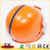Forma de casco de alta calidad de aleación de zinc Llavero de metal para el recuerdo