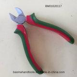 """6""""Diagonose щипцы с классической рождественской красной/зеленой полосой на рукоятку"""