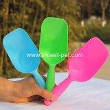 Cuchara plástica del alimento de animal doméstico de la calidad estable para el alimento de perro