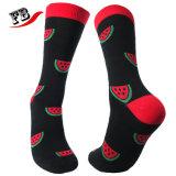 Soem-kundenspezifische Baumwollklare Farben-Socke