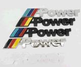 Tronco de la parte posterior del emblema del cromo de la divisa de la M-Potencia para E30 E36 E46
