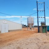 Het Huis van de Bouw van het staal in Vee voor de Loods van het Landbouwbedrijf van de Kip