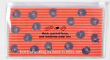 Kundenspezifischer Drucken-Fantasie-Reißverschluss-Verschluss-Bleistift-Beutel
