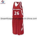 Baloncesto único de encargo Unirorms de la sublimación de las mujeres del baloncesto de la ropa de deportes llena de Jersey