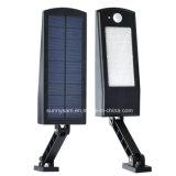 Angle réglable de 900 Lumen Super Bright Outdoor étanche Motion solaire wall lamp