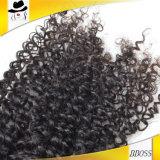 Необработанные глубокий занос категории 9A бразильского Virgin волос