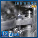Didtekの手動ハンドルのフランジはステンレス鋼CF3mの地球弁を終了する