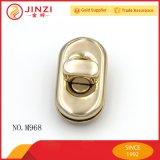 Sac de zinc métal haut de gamme de verrouillage de sacs à main Twist Lock en or