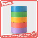접착제에 의하여 인쇄되는 파란 보호 테이프, Washi 종이 테이프