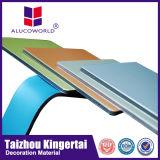 Noyau ininterrompue de 4 mm ACP panneau composite en aluminium pour mur rideau Clading