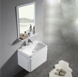 Kleines Lack-Furnierholz-moderner Badezimmer-Schrank (ACS1-L41)