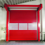 Porte rapide rigide de garantie de garage d'obturateur à grande vitesse automatique de rouleau