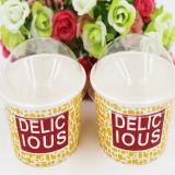 Taza disponible del helado de la venta directa de la fábrica con la impresión de encargo