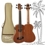 Caoba Aiersi Body Electric Bass Ukulele